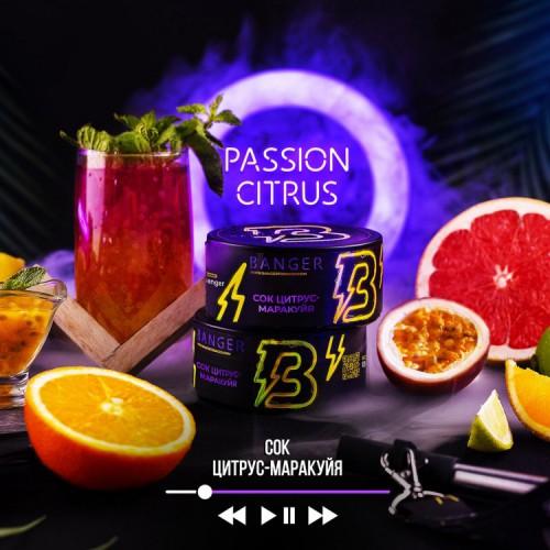 Табак Banger Passion Citrus (Сок Цитрус Маракуя) - 100грамм