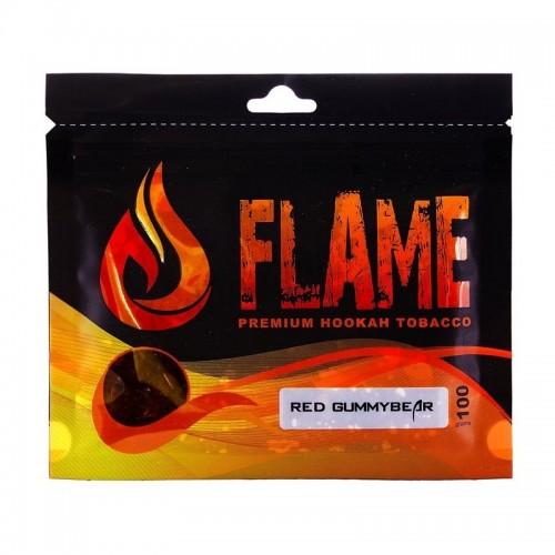 Табак Flame Red Gummi Bear(Красные мишки) - 100 грамм