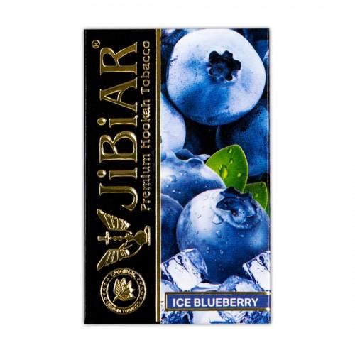 Табак Jibiar Ice Blueberry (Лед Черника)- 50 грамм