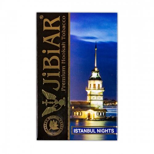 Табак Jibiar Istanbul Night (Стамбульские Ночи) - 50 грамм