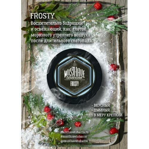 Табак Must Have Frosty (Холодок) - 125 грамм
