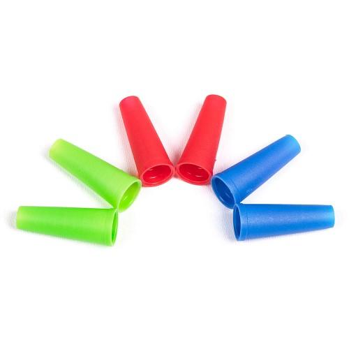 Мундштуки для кальяна внешние цветные 100 шт