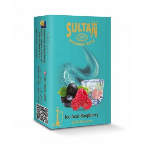 Табак Sultan Ice Acai Raspberry (Лед Асаи Малина) - 50 грамм