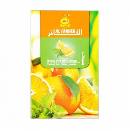 Табак Al Fakher Orange with mint (Апельсин с Мятой) - 50 грамм