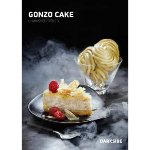 Табак Darkside Medium Gonzo Cake (Чизкейк) - 100 грамм