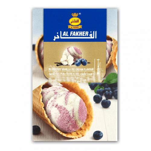 Табак Al Fakher Blueberry Vanilla Ice Cream (Черничное Мороженое) - 50 грамм
