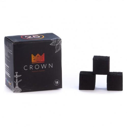 Уголь Кокосовый Сrown 25 (18 шт)