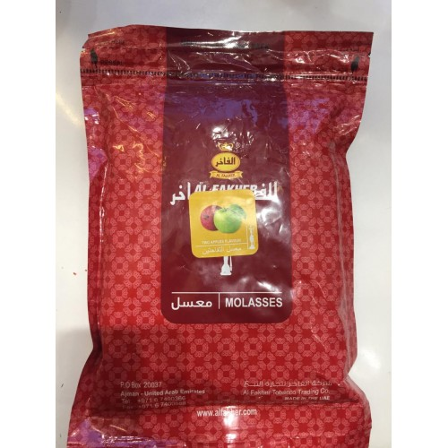 Табак Al Fakher Two Apple(Двойное яблоко) - 1кг (Без упаковки)