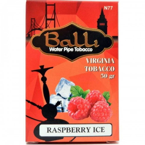 Табак Balli Ice Raspberry (Лед Малина) - 50 грамм