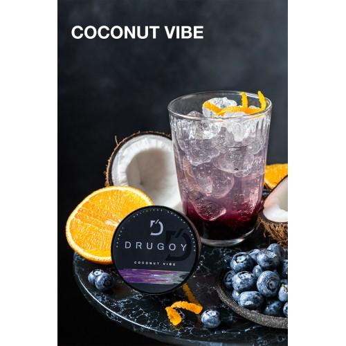 Табак Drugoy Coconut Vibe (Кокос Черника Апельсин) - 25 грамм