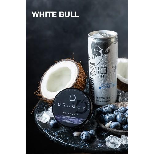 Табак Drugoy White Bull (Энергетик Черника Кокос) - 100 грамм