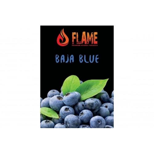 Табак Flame Baja Blue (Черника Мята) - 100 грамм