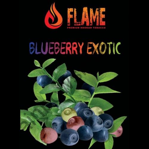 Табак Flame Blueberry Exotic(Черничная Экзотика) - 100 грамм
