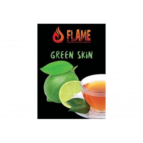 Табак Flame Green Skin(Зелёный Чай) - 100 грамм